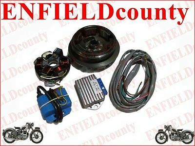 LAMBRETTA 12 V ELECTRONIC IGNITION KIT FOR LI 1/2/3 LARGE CONE TYPE SCOOTS @AEs