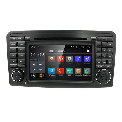 "7"" Car GPS Navigation for Mercedes Benz ML GL W164 ML300 ML350 DVD Radio Android"