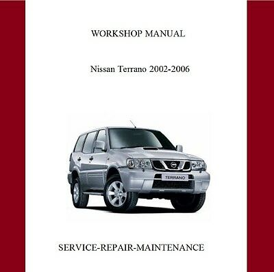 New Nissan Terrano R20 2002 2003 2004 2005  2006 Service Repair Manual Auto