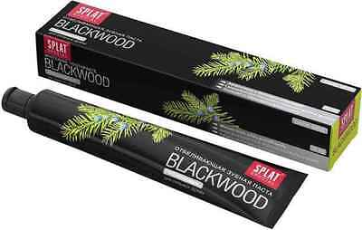 SPLAT Special BlackWood Whitening Toothpaste with Charcoal & Juniper *Dark Mint*