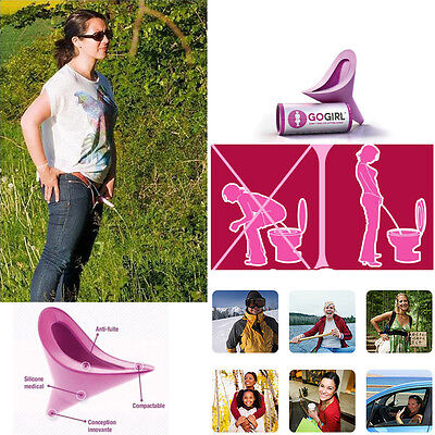 Gogirl Go Girl Portable Urination Device Pink Portable Travel Outdoor Stand Pee,