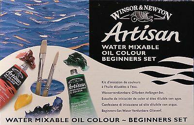 Winsor & Newton Artisan Water Mixable Oil Beginners Set