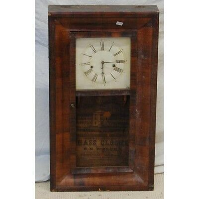 Early Wall Clock By E N Welch