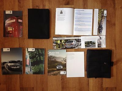 BMW M3 E90 Saloon Full Service Pack Handbook Manual With documents Wallet RARE