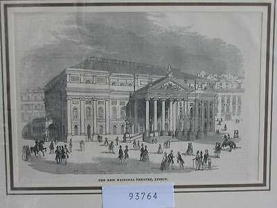 93764-Portugal-Portuguesa-LISBOA-LISSABON-LISBON-Theatre-TH-Wood engraving