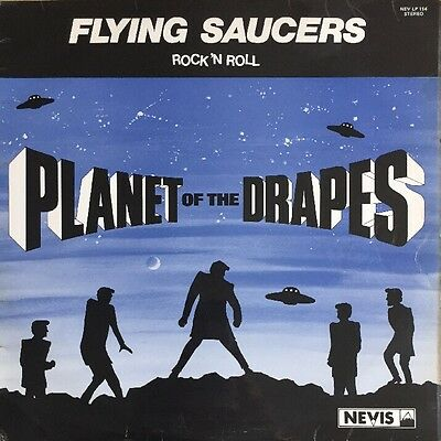 Flying Saucers Planet Of The Drapes Lp Nevis Uk First Pressing