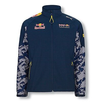 2016 OFFICIAL Red Bull Racing F1 Puma Teamline Soft Shell Jacket MENS - NEW