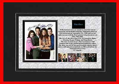 Will And Grace Tv Classic Mounted Display