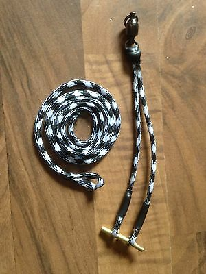 Falconry bullet Jesse set  and loop leash