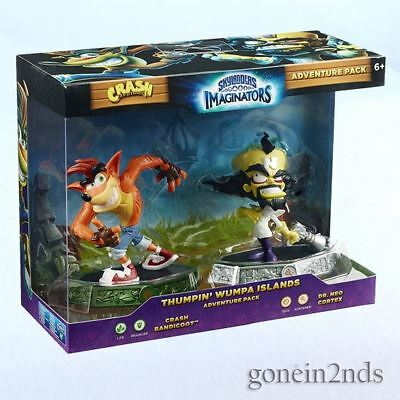 Skylanders Imaginators - CRASH BANDICOOT & DR NEO CORTEX *New and sealed*