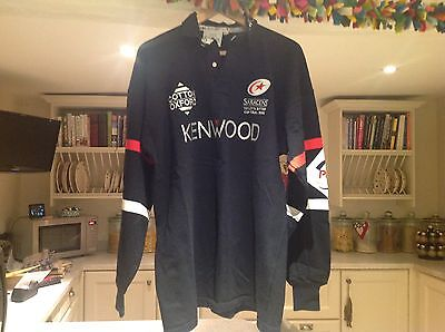 Saracens Rugby Union Player Issue Cup Final Jersey 1998