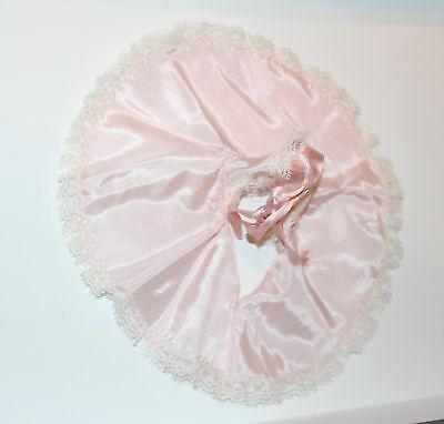 "Vintage 1950s Pink Shirley Temple Slip Excellent for a 12"" Doll"