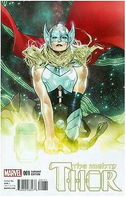 Mighty Thor # 1 (2016) Coipel Variant Nm Jane Foster
