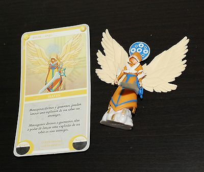 Clash of Heroes Ubisoft 3D figure e card HAVEN ANGELO ANJO