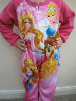 Disney Princess Girls' Cosy Fleece Sleepsuit, 2-5 years; BNWT!