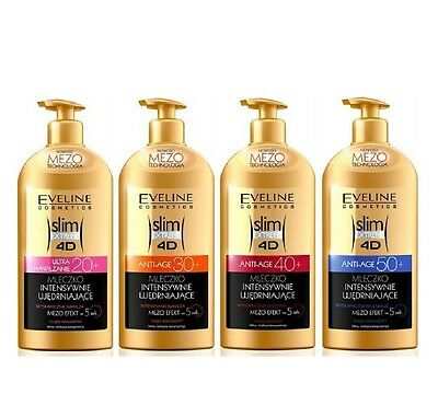 Eveline Intensive Firming Body Lotion Mezo Slim Extreme 4 D 20+ 30+ 40+ 50+