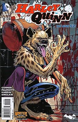 Harley Quinn #11 Monsters Variant Dc New 52 Comics Nm