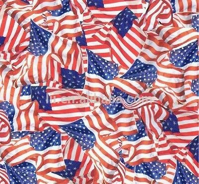 Hydrographic Water Transfer Hydrodipping Film Hydro Dip American Flags