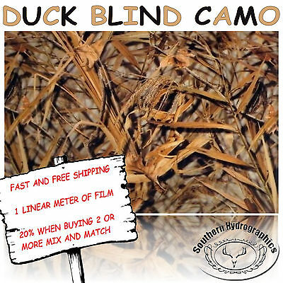 Hydrographic Water Transfer Hydrodipping Film Hydro Dip Duck Blind Camo