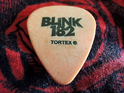 Rare Blink 182 Mark Or Tom Tour Guitar Pick !!!
