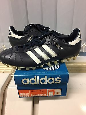 Vintage Adidas Rummenigge Star Made In West Germany UK 8,5 Rare. Football Soccer