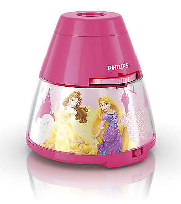 Philips Disney Princess Childrens Night Light and Projector 1 x 0.1w Integrated