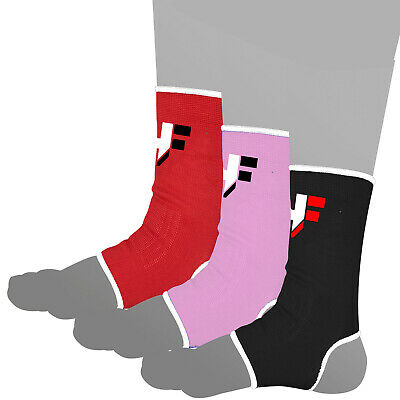 KIKFIT Ankle Foot Support Brace Compression Guard Sports Injury Pain Relief MMA