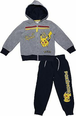 Pokemon Pikachu Crew and Squares Tracksuit By BestTrend