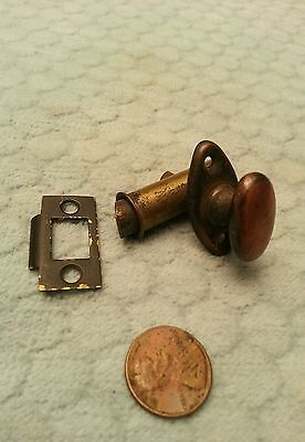 Thumb Turn Cabinet Latch Tiny Mortise