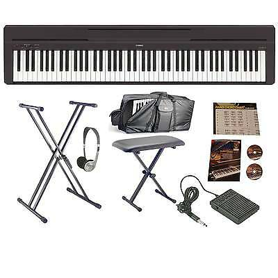 Yamaha P45B Digital Piano | Bundle | Carry Case