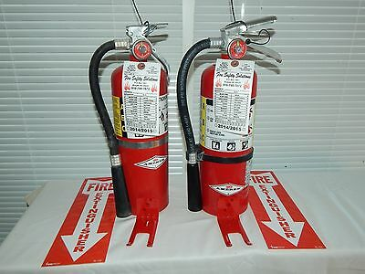 Fire Extinguisher - 5Lb ABC Dry Chemical (Blemished - Scratch & Dent  - Lot of 2
