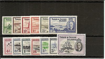 Turks and Caicos SG 221/33 L/Mint