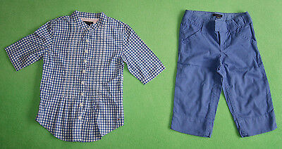 Tommy Hilfiger shirt and 3/4 trausers set for girl age 4 - 5 years