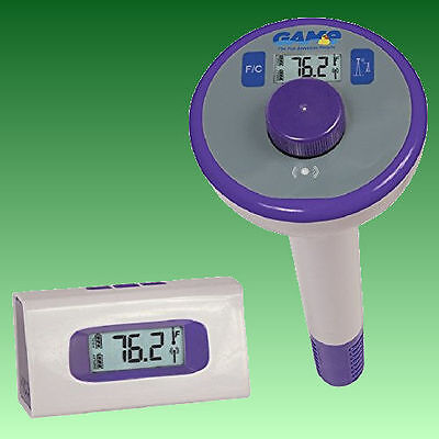 GAME Digital Wireless Indoor Outdoor Swimming spa Pool Water Thermometer 4302