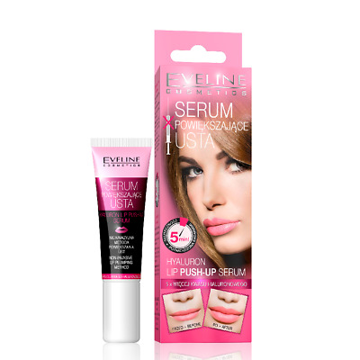 Eveline Hyaluron lèvre PUSH UP SERUM BOOSTER REMPLISSAGE ronde agrandissant