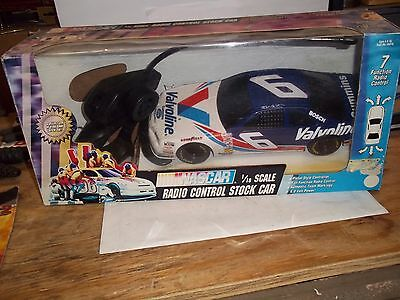 Nascar 1/8 Scale Radio Controlled Stock Car Valvoline # 6