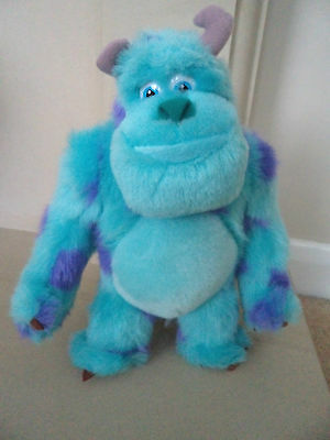 DISNEY MONSTERS INC - SULLEY Soft Toy - Rare Promo - VGC