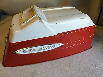 MOTOR COVER COWL from 1960 Gale Sea King 15 HP Outboard Motor Model GG8823A