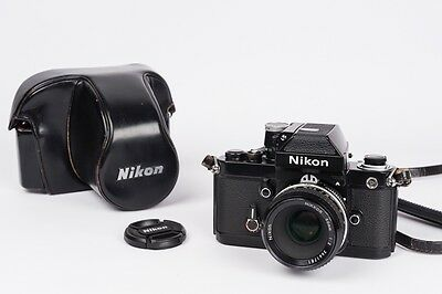 Nikon F2 + DP-11 + nikkor 50mm 1:2 AI + hard case CH-4 - NEW SEALS