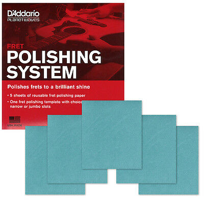 Planet Waves Fret Polishing System PW-FRP for Guitars D'Addario Shining Cleaner