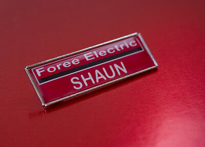 Shaun Of The Dead Shaun's Foree Electric ID Badge
