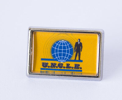 Retro The Man From UNCLE Pin/Lapel Badge