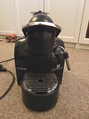 Nespresso Magimix M200 Black Coffee Maker with Milk Steamer