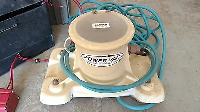 Power Vac Portable Professional Swimming Pool Cleaner Vacuum PV2100 002-D
