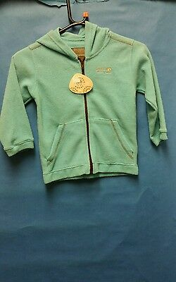 Regatta Fleece Jacket Zip Top. Girls Boys Childrens Teal size 3 - 4 years bnwt