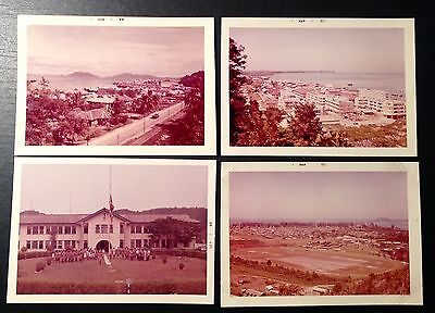Original Old photo of (Jesselton)Kota Kinabalu (1960s approx.)group of 4, lot #a