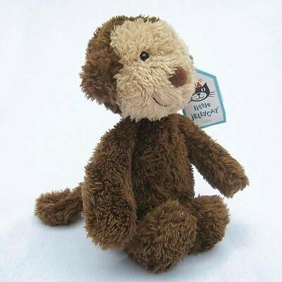 Jellycat: NEW Small Nugget Brown Monkey Plush Toy (Retired & Rare)