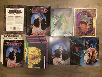 Ravenloft,Realm of Terror,AD&D,2nd Edition,Boxed Set,1990,Complete,VGC.