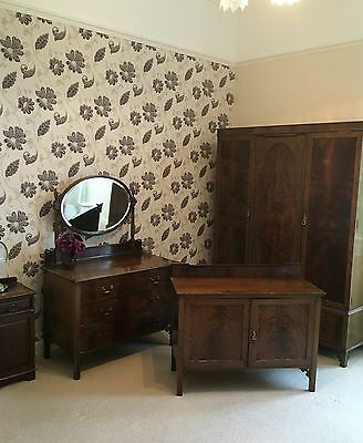 Real Wood Solid Walnut BEDROOM SET
