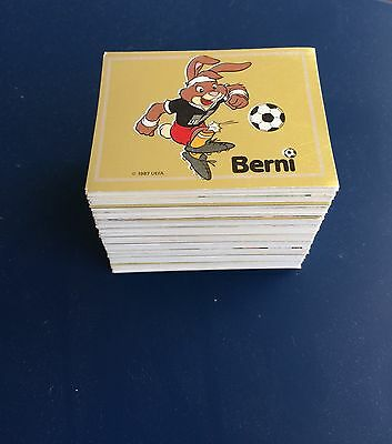 Complete Stickers Set Panini Euro 88